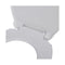 Soft Close Toilet Seat White Oval