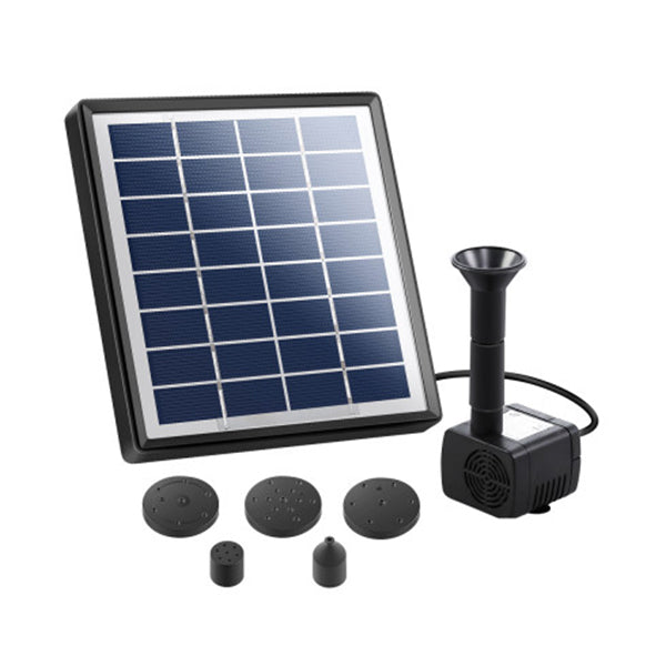 Solar Powered Pond Pump Submersible Fountains