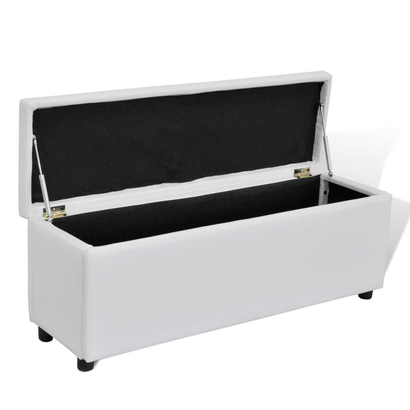 Storage Bench Medium Size - White