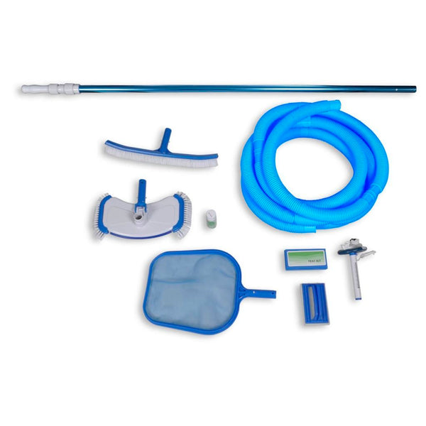 Swimming Pool Cleaning Set With Vacuum Head