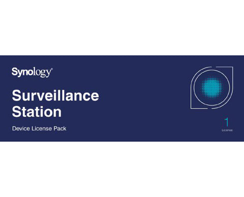 Synology Surveillance Device License Pack For Synology NAS - 1 License