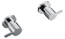 Chrome Bathroom Shower / Bath Mixer Set w/ WaterMark