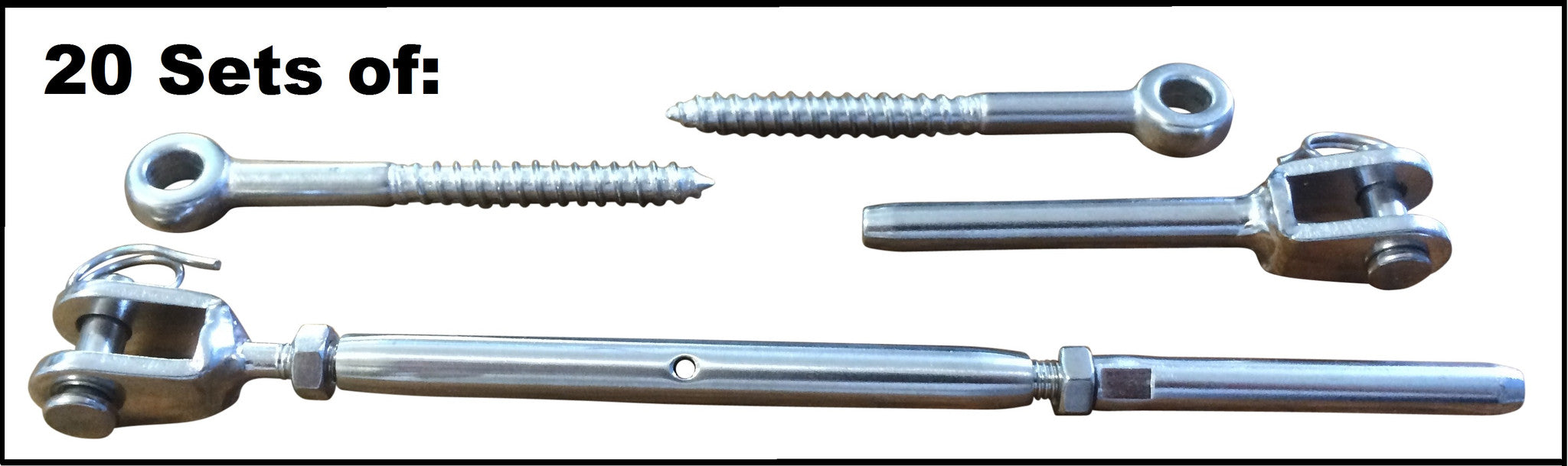 20x Stainless Wire Rope Balustrade Kit – Simply Wholesale