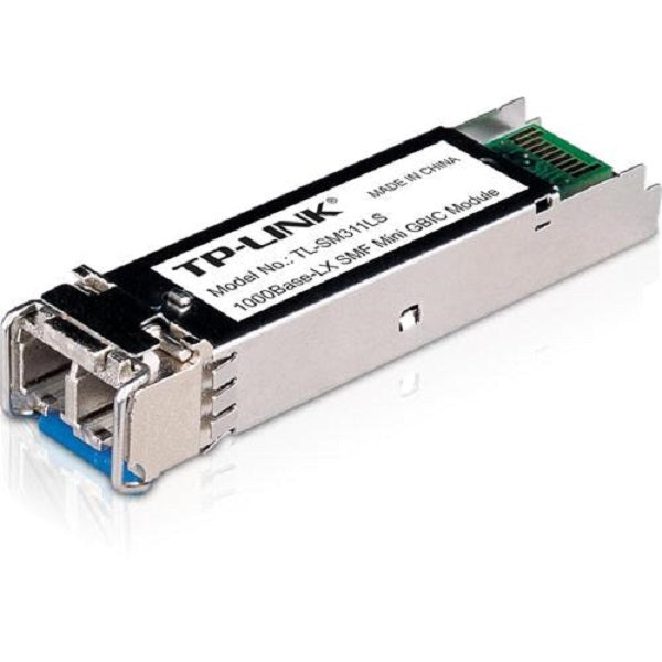 TP-Link Gigabit SFP MiniGBIC Module, Single Mode, LC Interface