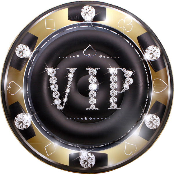The VIP Gambler Gold Pool Float Lounge