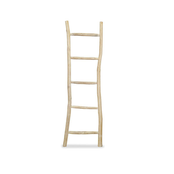 Towel Ladder With 5 Rungs Teak 45 X 150 Cm Natural
