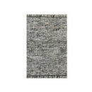 Tulum Antracite Wool Cotton Rug