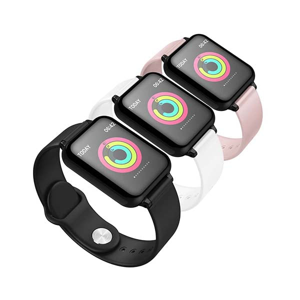 Soga 3X Waterproof Fitness Smart Wrist Watch Heart Rate Monitor Bundle