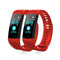 Soga 2X Sport Smart Watch Health Fitness Wrist Band Tracker Red