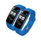 Soga 2X Sport Monitor Wrist Touch Fitness Tracker Smart Watch Blue