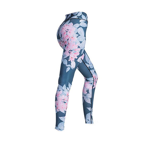Womens Yoga Pants Leggings Push Up Fitness Gym Sports Stretch Trousers