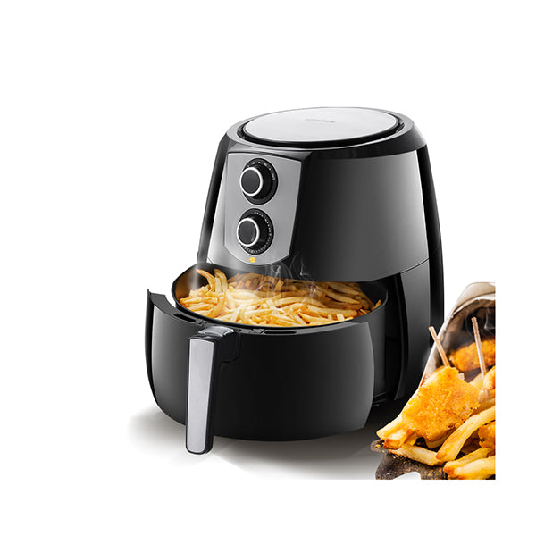 1800W 7L Air Fryer Healthy Cooker Low Fat Oil Free Kitchen Oven Black