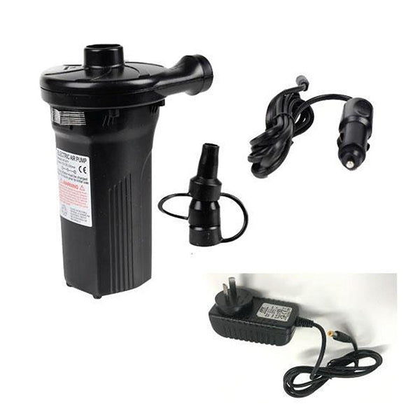 Rechargeable Electric Air Pump Inflator Deflator Ac Au Plug Dc Lighter