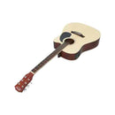 41 Inch Electric Acoustic Guitar Wooden Classical Pickup Bass Natural