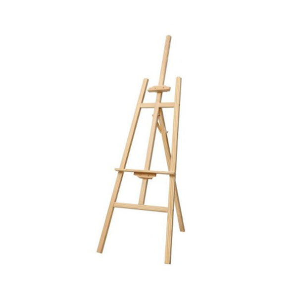 Pine Wood Easel Art Display Painting Shop Tripod Stand Wedding