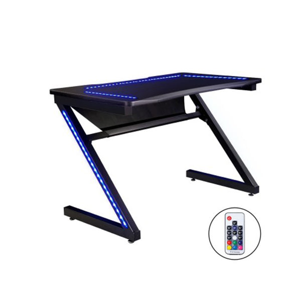 Gaming Desk Office Computer Led Study Table Racer Chair Laptop Home