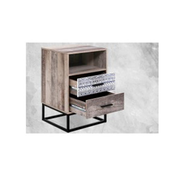 Bedside Tables Drawers Side Table Wood Nightstand Storage Cabinet Unit