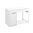 Office Study Computer Desk Cabinet - White