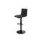 Set of 2 Kitchen Bar Stool Black