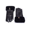 UGG Australian Sheepskin Leather Gloves Black Womens Chloe
