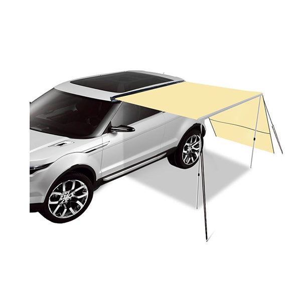 2.5X3M Car Side Awning Extension Roof Rack Covers Tents Shades Camping