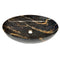 615X420X140 Mm Bathroom Oval Above Counter Ceramic Wash Basin