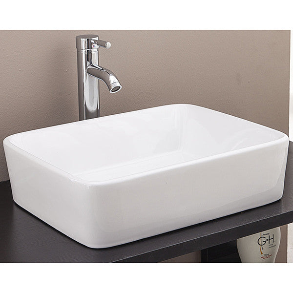 Above Counter Bathroom Vanity Square Basin