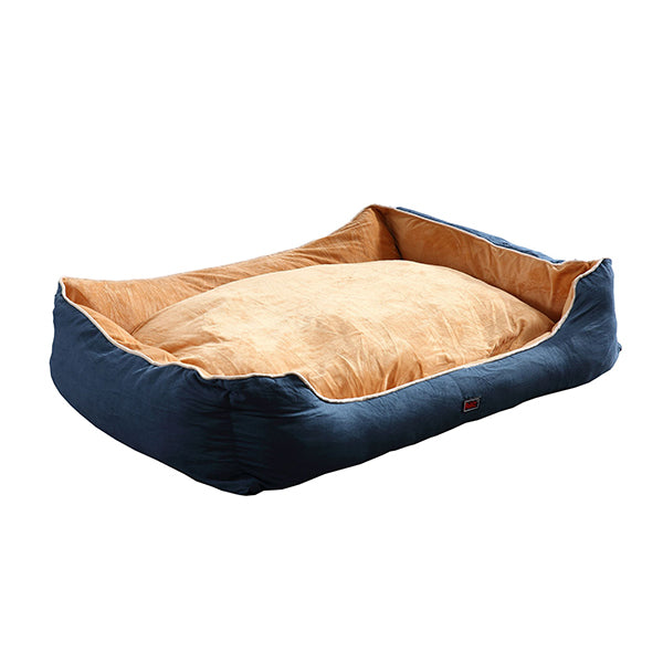 Pet Bed Mattress Dog Cat Pad Mat Puppy Cushion Soft Warm Washable Blue