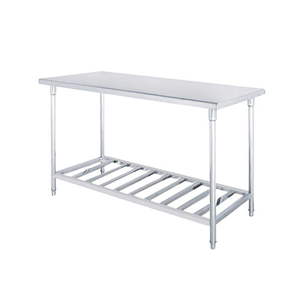 Soga 120X70X85Cm Commercial Catering Stainless Steel Prep Work Bench