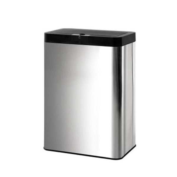 Stainless Steel Sensor Bin Rubbish Trash Motion Automatic Touch Free