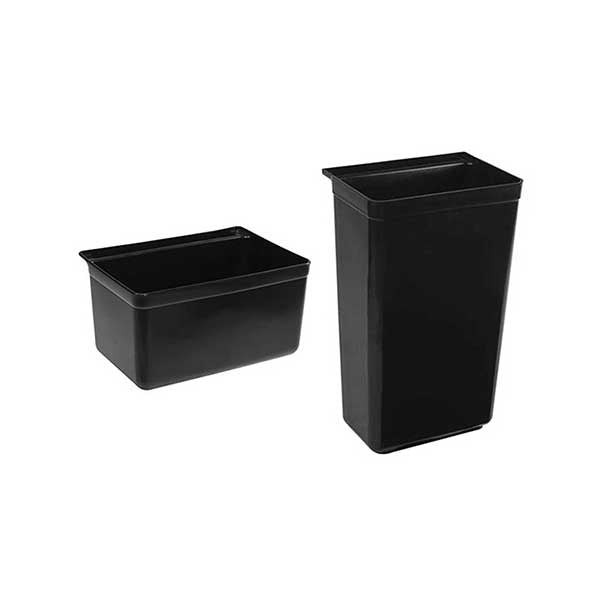 Soga Food Trolley Large And Small Utility Cart Waste Storage Bin