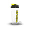 5X 700Ml Bioflex Protein Shaker Large Bottle Cup Powder Shake