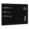 Wall Mounted Magnetic Blackboard Glass