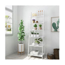 Chole 6 Tier Display Shelf Rack White