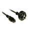Iec C5 Clover Leaf Style Appliance Power Cable 3M Black