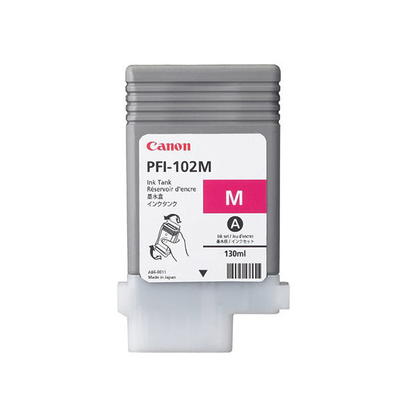 Canon Pfi 102M Magenta Ink 130Ml