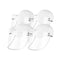 4X Outdoor Hat Anti Fog Dust Saliva Cap Face Shield Cover Adult White