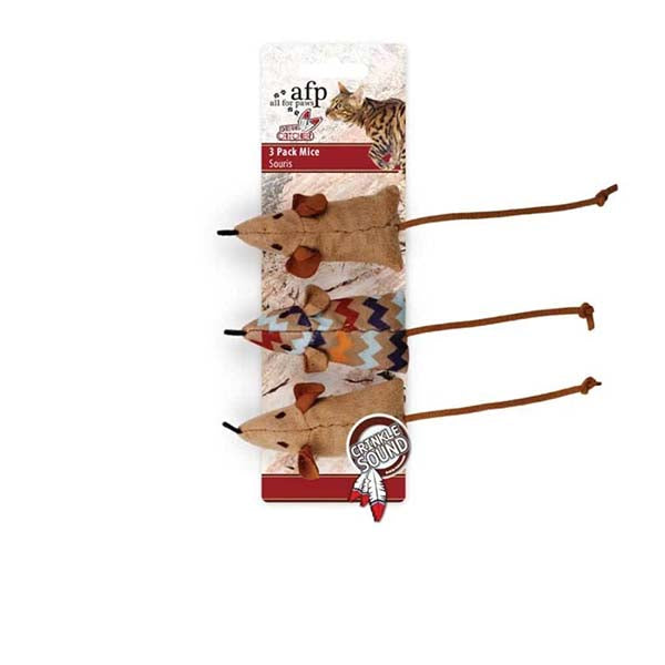 Catnip Cat Toys 3 Pack Mice