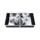 Stainless Steel Kitchen/Laundry Sink with Strainer Waste