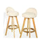 4X Levede Leather Swivel Bar Stool Kitchen Stool Dining Chair