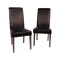Swiss Wooden Dining Chairs 2X