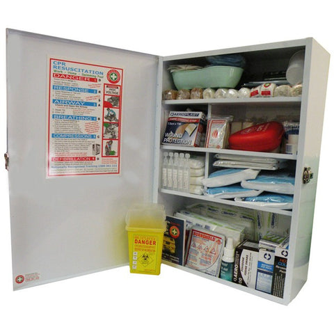Childcare and Nursery Large Wallmount First Aid Kit