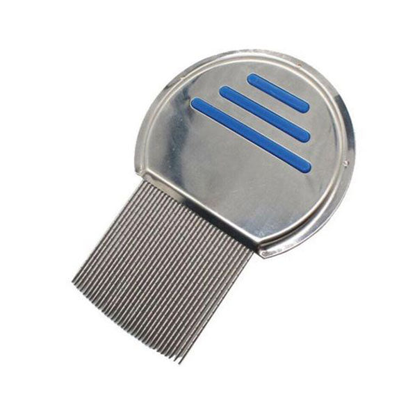Head Lice Comb Hair Nits Stainless Steel Egg Flea Removal Metal Head