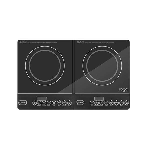 Soga Cooktop Portable Induction Led Electric Duo Burners Stove
