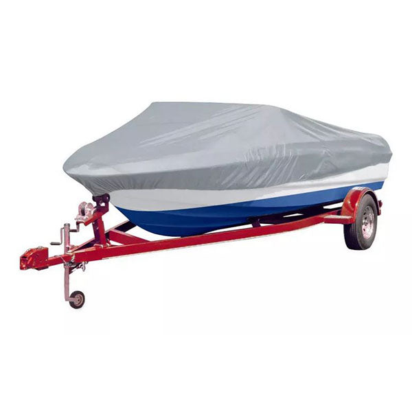 Boat Cover Grey With Storage Bag