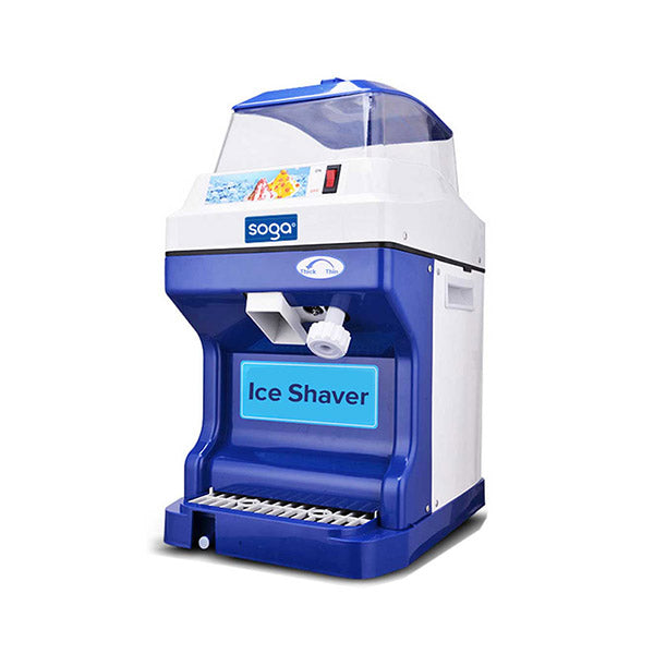 Soga Commercial Ice Shaver Crusher Slicer Smoothie Machine