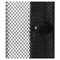Insect Door Curtain 210 X 100 Cm 2 Pcs Magnet Black