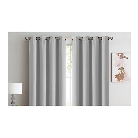 1 Pair Blockout Curtains Panels 140X160cm