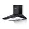 Pyramid Range Hood Rangehood 600 Mm 60 Cm Kitchen Canopy Black