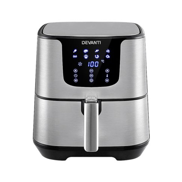 Air Fryer 7L Lcd Fryers Oil Free Oven Kitchen Healthy Cooker